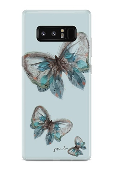 Lopard Samsung Galaxy Note 8 Kılıf Pepela Kapak Renkli